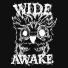 Wide Awake Owl - White by Caites