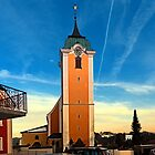 The village church of Neufelden II | architectural photography by Patrick Jobst