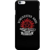 Winchester bros iPhone Case/Skin