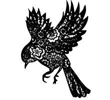 Zentangle Bird by jaimeeannd