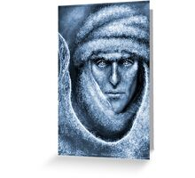 Lost in Helcaraxe - Freezing Greeting Card