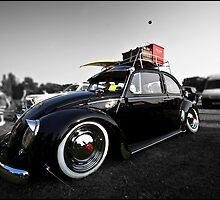 Old School VW Beetle (selective colour) by James Richardson