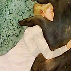 the bear submitted to her love, and if he growled she only laughed by Claudia Dingle