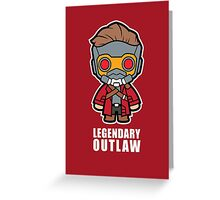 Legendary Outlaw Greeting Card