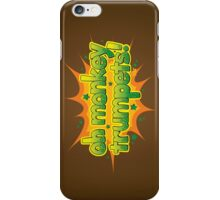 Oh Monkey Trumpets! iPhone Case/Skin