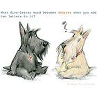 Riddles for scotties_4 by valeria moldovan