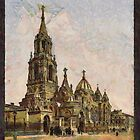 St. Demitry, Kharkiv, Ukraine in the 19th century by Dennis Melling