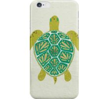 Green Sea Turtle iPhone Case/Skin