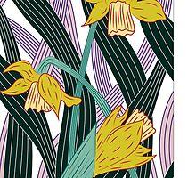 Daffodils by MarinaGreen