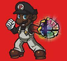 Black Mario - Final Smash by PKSparkxx