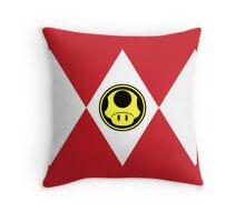 Mushroom Plumber Ranger Throw Pillow
