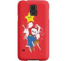 Super Mario Splattery T-Shirt Samsung Galaxy Case/Skin