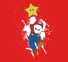 Super Mario Splattery T-Shirt Kids Clothes