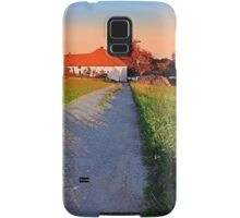 Early summer morning hiking trip | landscape photography Samsung Galaxy Case/Skin