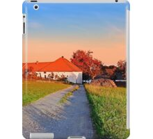 Early summer morning hiking trip   landscape photography iPad Case/Skin