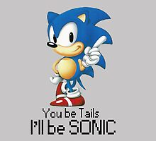 you be tails i'll be sonic by Rijn