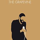 No060 MY MARVIN GAYE Minimal Music poster by Chungkong