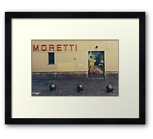 And all the wine.. Framed Print