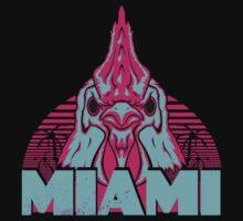 Welcome to Miami, friends. (Blue Version) by HankScorpio
