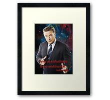 Wise Words from Jack Donaghy Framed Print