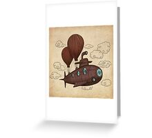 The Fantastic Voyage  Greeting Card