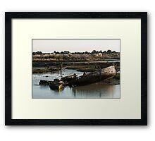 Wrecks (Île de Noirmoutiers - Vendée, France) Framed Print