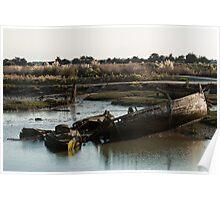 Wrecks (Île de Noirmoutiers - Vendée, France) Poster