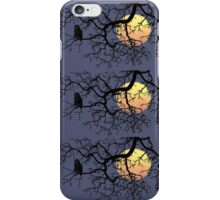 The Owl And The Moon iPhone Case/Skin