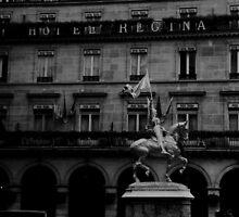 Hotel in Paris by JamesShannon