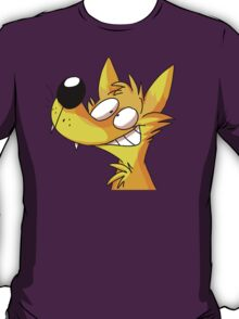 HAPPY YELLOW FOX  T-Shirt
