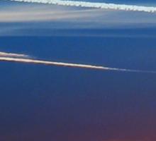 Traces in the Sky Sticker