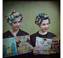 It's My Mother's Beauty Parlor Photographic Print