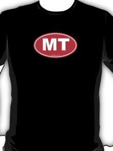 Montana MT Euro Oval RED T-Shirt