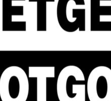 Death Grips - Get Got Sticker