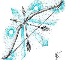 bow & arrows by rhi00