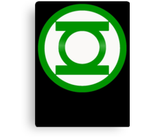 Green Lantern Symbol Canvas Print