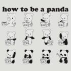 How to be a Panda by evanmayer