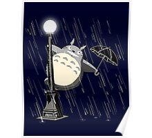Neighbor in the rain Poster