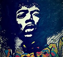 Jimmy Hendrix by infinitelove