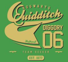 Cedric Diggory - Quidditch T-shirt (Dirty Version) Kids Clothes
