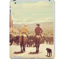 A Country Cattle Call iPad Case/Skin
