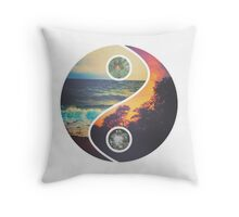 """CHILL VIBES """"YANG"""" Throw Pillow"""