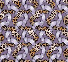 Leopards'n Lace - Purple by BonniePhantasm