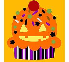 Halloween Cupcake Photographic Print