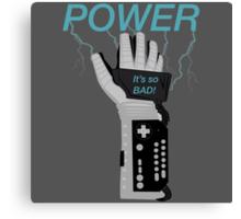 POWER. Canvas Print