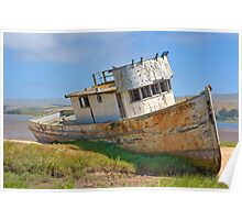 Beached - Point Reyes Tug Poster