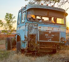The old MAN Truck........  by mitpjenkeating