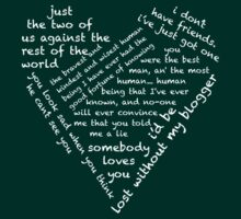 Quotes of the Heart - Johnlock (White) by fairy911911