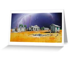 Bangate Shearer's Sheds Greeting Card