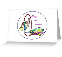 ASL Always and Forever Greeting Card